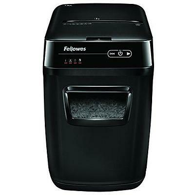 Fellowes AutoMax 130C 130-Sheet Cross-Cut Auto Feed Shredder, for Hands-Free New