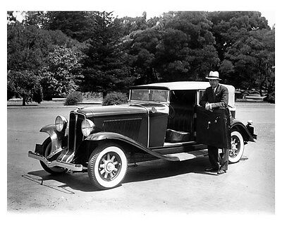 1931 Auburn Convertible Phaeton ORIGINAL Factory Photo oub4384
