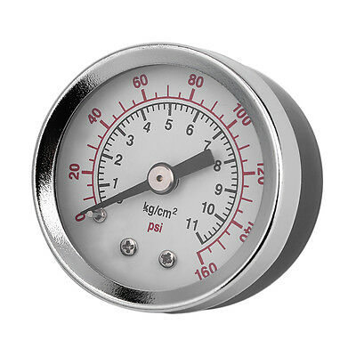 Vacuum Pressure Gauge Tester TS-40-160Psi 1.5 Inch Face Back Mount 1/8 Inch BH