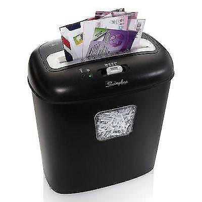 Swingline Paper Shredder, 12 Sheets, Super Cross-Cut, Junk Mail Shredder, 1