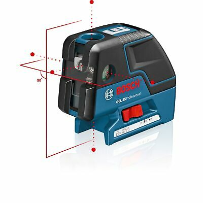 Bosch kreuzlinen and punktlaser GCL 25 with Bag 0601066B00 kombilaser