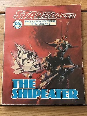 Vintage Starblazer DC Thomson Comics no 5 The Ship Eater