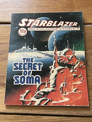 Vintage Starblazer DC Thomson Comics no 16 The Secret Of Soma