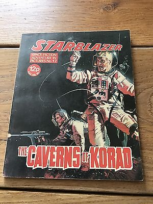 Vintage Starblazer DC Thomson Comics no 17 The Caverns Of Korad