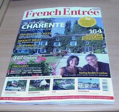French Entree magazine SPRING 2017 Charente, Brexit, Unchartered Alps, Languedoc