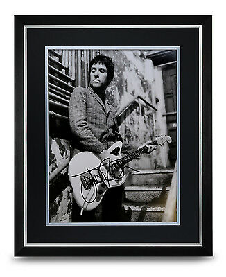 Johnny Marr Signed Photo Large Framed Display Smiths Autograph Memorabilia + COA