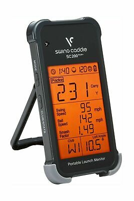 Voice Caddie 2017 Swing Caddie Sc200 Pro Edition Golf Training Launch Monitor