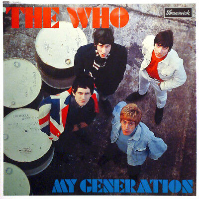 THE WHO My Generation VINYL ALBUM LP RECORD Remastered Mono, 180 Gram NEW