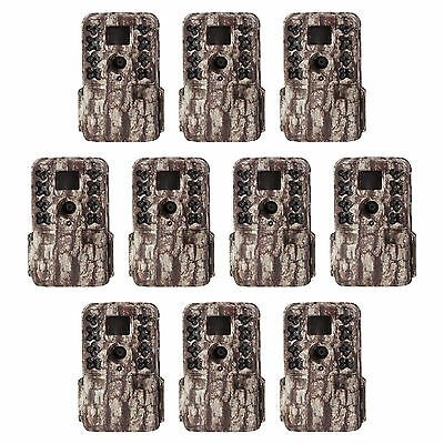 Moultrie M-40 16MP 80' FHD Video Infrared Game Trail Camera, 10 Pack | MCG-13181