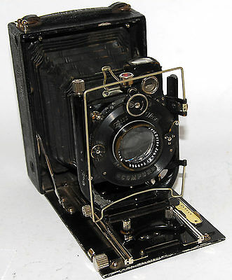 ZEISS IKON IDEAL 225 RARE Vintage camera with Carl ZEISS JENA TESSAR 4.5/150mm
