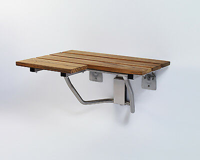 L-Shaped Folding Shower Seat - Right Hand