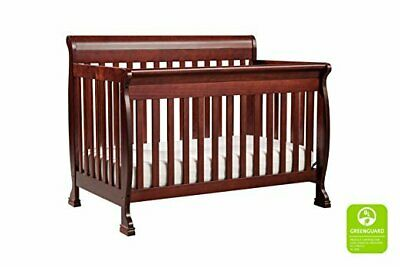 DaVinci Kalani 4-in-1 Wooden Convertible Crib w/Toddler Rail Cherry M5501 NEW