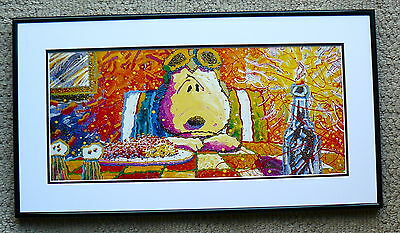 Tom Everhart Snoopy The Last Supper Ww1 Flying Ace Framed Print  Charles Schulz