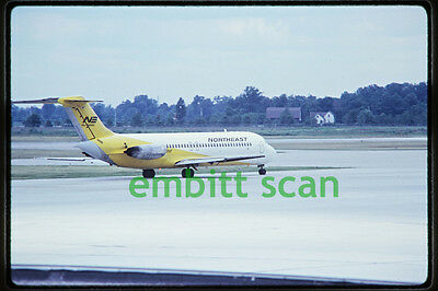 Original Slide, Northeast Airlines Douglas DC-9, in 1971