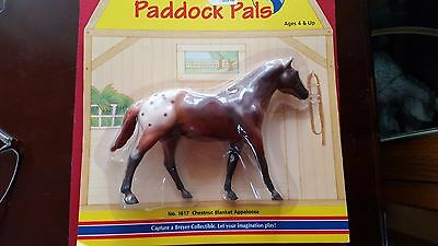 Breyer Paddock Pals - #1617 Chestnut Blanket Appaloosa - NEW