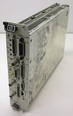 HP 75000 Series C Model V/382 VXI Controller E1499A, 8 MB, Thin LAN, 640 x 480