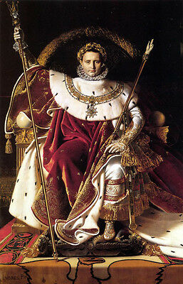 Dream-art Oil painting Ingres Emperor Napoleon I on His Imperial Throne canvas