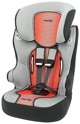 TT Racer First Pop High Back Booster Seat Groups 1-2-3 - Red