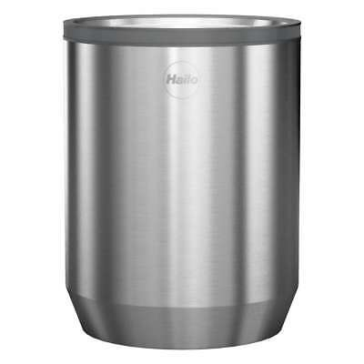 Hailo KitchenLine Design Plus Storage Container Box Stainless Steel Plastic 1 L