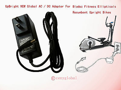 NEW AC Adapter For Bladez Fitness Elliptical E300 E600 E700i R300 R400 U300 U400