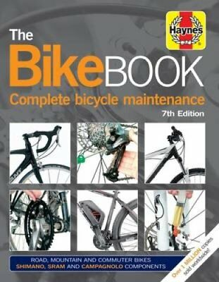 Bike Book: Complete Bicycle Maintenance by James Witts (Hardback, 2017)