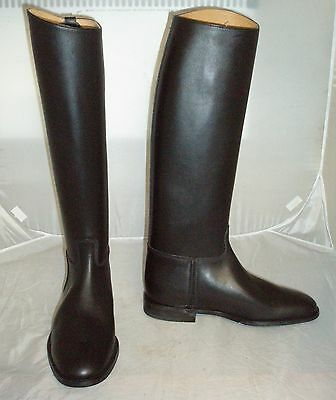 Regent Black Leather Royale Riding Boots Size 9
