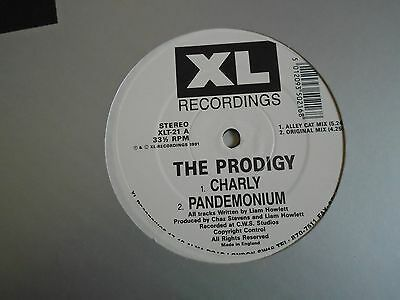 "THE PRODIGY ~ Charly ~ 12"" Single"