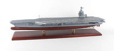 USN USS Gerald R Ford CVN-78 Desk Display 1/430 Aircraft Carrier Ship ES Model