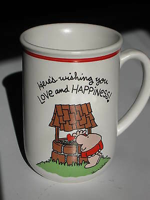 VINTAGE 1981 ZIGGY MUG CUP Tom Wilson LOVE HAPPINESS plus GREETING CARD LOT of 4