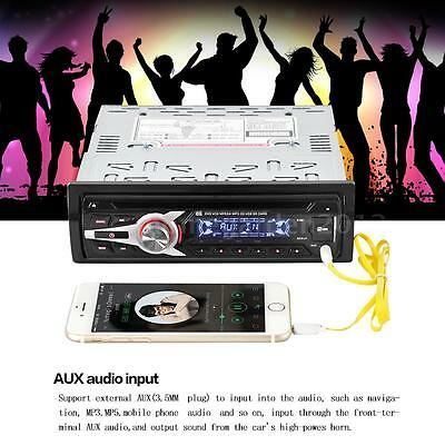 Car Stereo FM Radio Audio Player DVD CD MP3 MP4 Player Aux Input USB Port