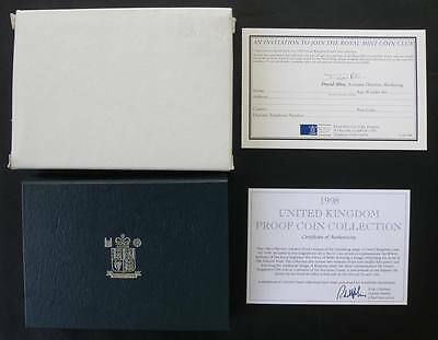 1998 Great Britain 10 Coins Proof Set
