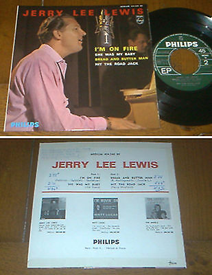RARE French EP 45t BIEM (7') JERRY LEE LEWIS (1964)