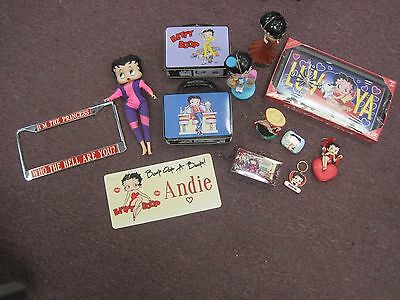 Large Lot Of Betty Boop Collectibles