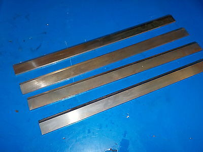 Planer Knives Set Of Four Great Shape Fresh Sharpened Razor Sharp 14-1/2""