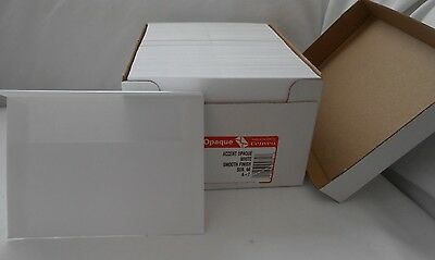 Box of 250 /Accent Opaque WHITE Smooth Finish sub 60 A-7 ENVELOPES 5 1/4 x 7 1/4