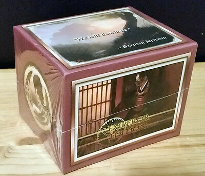 L5R legend of the five rings ccg sealed Emperor Edition starter deck SCORPION