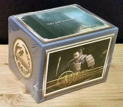 L5R legend of the five rings ccg sealed Emperor Edition starter deck CRAB
