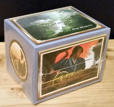 L5R legend of the five rings ccg sealed Emperor Edition starter deck CRANE