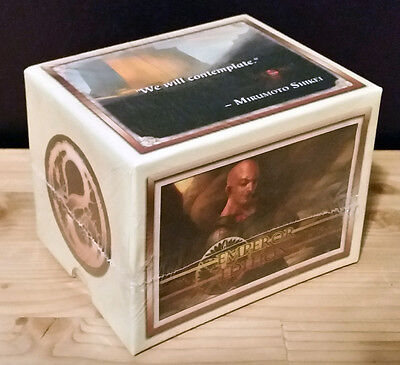 L5R legend of the five rings ccg sealed Emperor Edition starter deck DRAGON