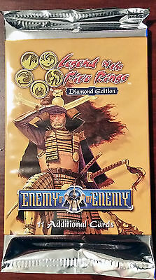 L5R legend of the five rings booster box lot of 48 Enemy of my Enemy packs