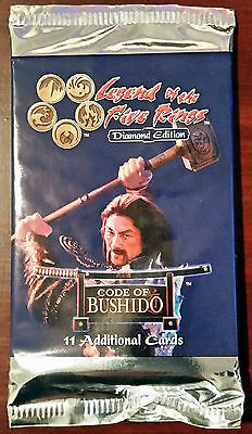L5R legend of the five rings booster box lot of 48 CODE of BUSHDO sealed packs