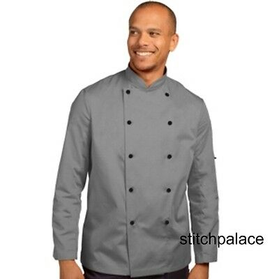 Dennys Technicolour Chef Jacket Light Grey & 10 other Colours Available XS-2XL