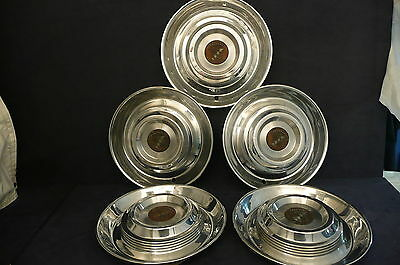 1954-1955 Cadillac hubcaps set 15 inch OEM CAD177