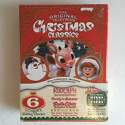 the original television christmas classics rudolph the red nosed dvd brand new - Christmas Classics