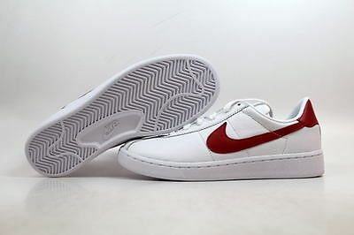 NIKE BRUIN LEATHER White/Red Marty