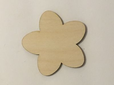 Crafting Supplies - Cherry Blossom, Unfinished Wood, Laser Cut Wood, A233