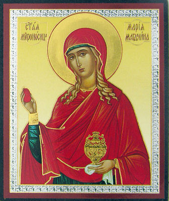 Russian wood icon  Mary Magdalene NEW!