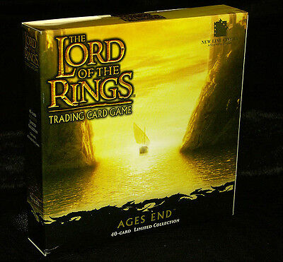 LOTR Lord of the Rings tcg sealed AGES END 40 card all-foil deck