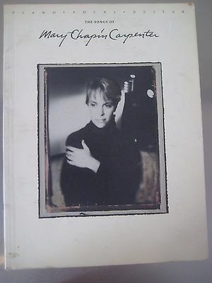 The Songs of Mary-Chapin Carpenter by Mary-Chapin Carpenter Songbook.