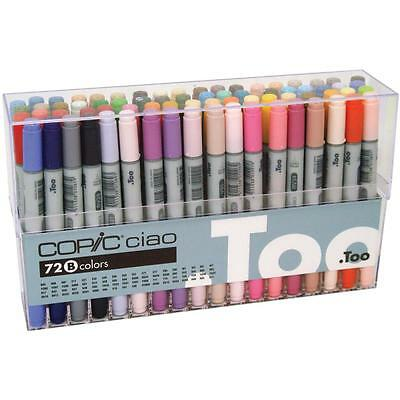 Ciao Markers 72 Piece Set B I72B by COPIC
